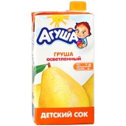 Агуша Сок Груша Осветлённый 500мл