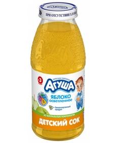 Агуша Сок Яблоко Осветлённый 150мл