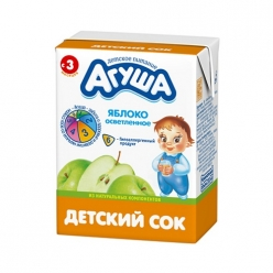 Агуша Сок Яблоко Осветлённый  200мл