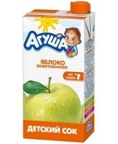 Агуша Сок Яблоко Осветлённый 500мл