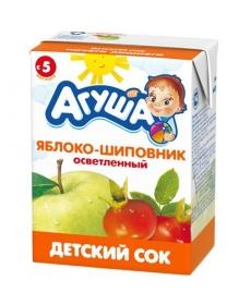 Агуша Сок Яблоко/Шиповник 200мл