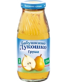 Бабушкино Лукошко 200мл Сок Груша Осветлённый