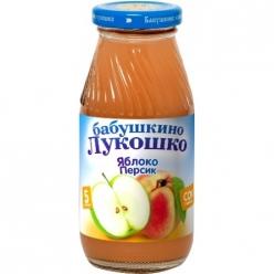 Бабушкино Лукошко 200мл Сок Яблоко/Персик/Мякоть