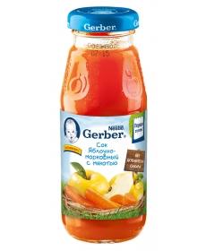 Gerber сок Яблоко/Морковь 175мл