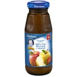 Gerber сок Яблоко/Мякоть 175мл