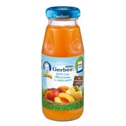 Gerber сок Яблоко/Персик 175мл