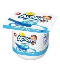 Агуша творог Классический - Молочный 100г