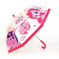 Зонтик GT8105 Моя маленькая пони, прозрачный, 45см