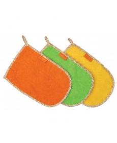 Мир Детсва - Мочалка - варежка 100% хлопок