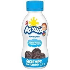 Агуша йогурт Чернослив 200г