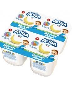 Агуша йогурт Банан 90г