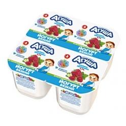 Агуша йогурт Земляника / Малина 90г